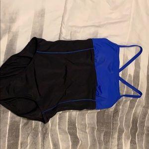 Selling a one piece Nike swim suit.